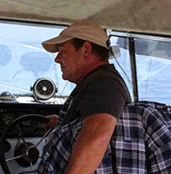 First Mate Randy Dickert