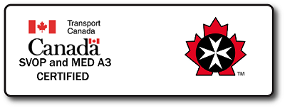 Transport Canada Certified